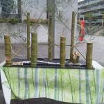 竹のお飾り
