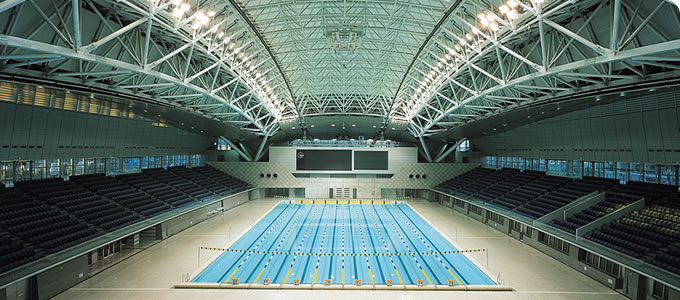 横浜国際プール - YOKOHAMA INTERNATIONAL SWIMMING POOL